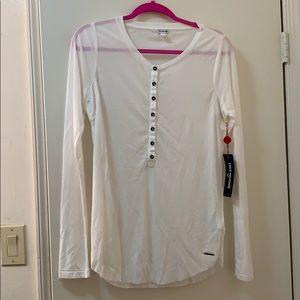 True Religion Military Henley Shirt